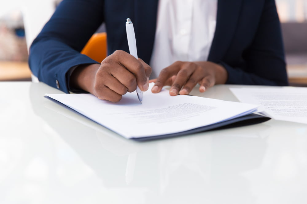 What should I look for When Signing a Document?